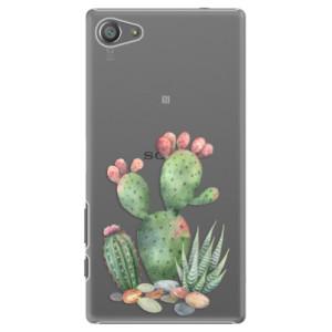 Plastové pouzdro iSaprio Cacti 01 na mobil Sony Xperia Z5 Compact