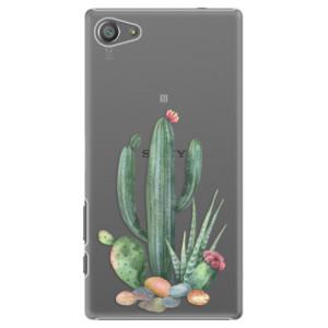 Plastové pouzdro iSaprio Cacti 02 na mobil Sony Xperia Z5 Compact