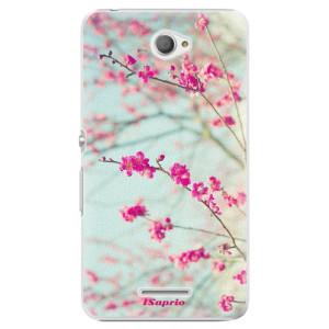 Plastové pouzdro iSaprio Blossom 01 na mobil Sony Xperia E4