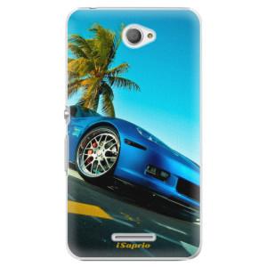 Plastové pouzdro iSaprio Car 10 na mobil Sony Xperia E4