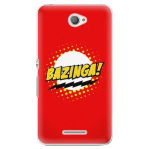 Plastové pouzdro iSaprio Bazinga 01 na mobil Sony Xperia E4