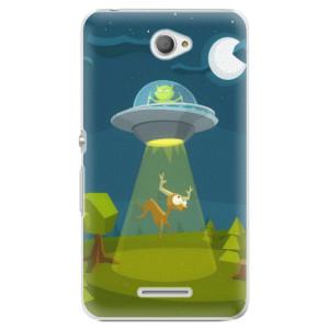Plastové pouzdro iSaprio Alien 01 na mobil Sony Xperia E4