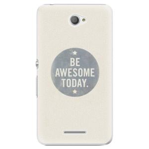Plastové pouzdro iSaprio Awesome 02 na mobil Sony Xperia E4