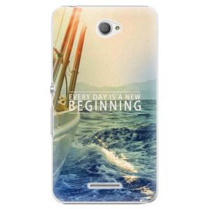 Plastové pouzdro iSaprio Beginning na mobil Sony Xperia E4