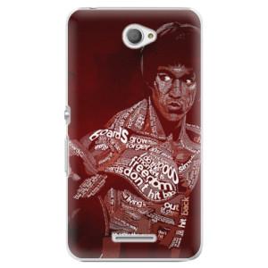 Plastové pouzdro iSaprio Bruce Lee na mobil Sony Xperia E4