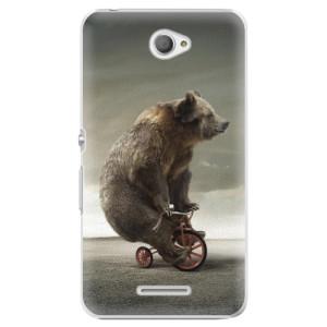 Plastové pouzdro iSaprio Bear 01 na mobil Sony Xperia E4