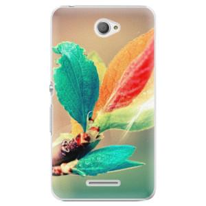 Plastové pouzdro iSaprio Autumn 02 na mobil Sony Xperia E4
