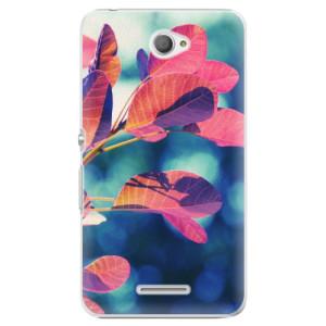 Plastové pouzdro iSaprio Autumn 01 na mobil Sony Xperia E4