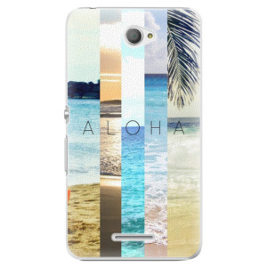 Plastové pouzdro iSaprio Aloha 02 na mobil Sony Xperia E4