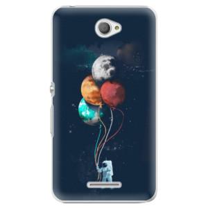 Plastové pouzdro iSaprio Balloons 02 na mobil Sony Xperia E4