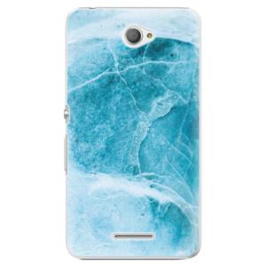 Plastové pouzdro iSaprio Blue Marble na mobil Sony Xperia E4