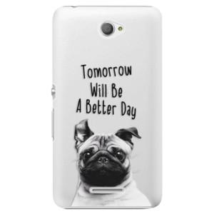 Plastové pouzdro iSaprio Better Day 01 na mobil Sony Xperia E4