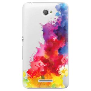 Plastové pouzdro iSaprio Color Splash 01 na mobil Sony Xperia E4