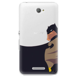 Plastové pouzdro iSaprio BaT Comics na mobil Sony Xperia E4