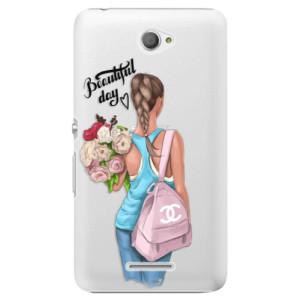 Plastové pouzdro iSaprio Beautiful Day na mobil Sony Xperia E4