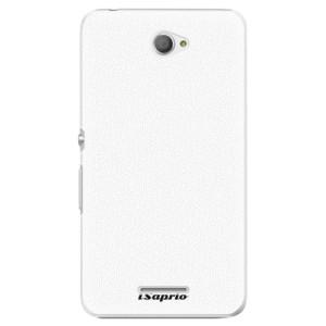 Plastové pouzdro iSaprio 4Pure bílé na mobil Sony Xperia E4