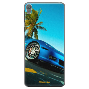 Plastové pouzdro iSaprio Car 10 na mobil Sony Xperia E5