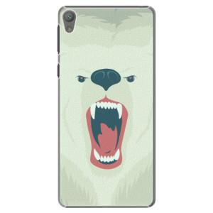 Plastové pouzdro iSaprio Angry Bear na mobil Sony Xperia E5