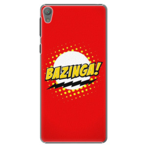 Plastové pouzdro iSaprio Bazinga 01 na mobil Sony Xperia E5