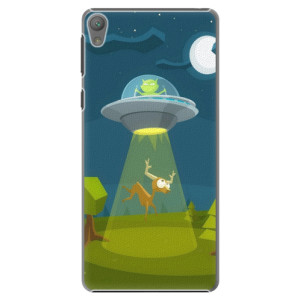 Plastové pouzdro iSaprio Alien 01 na mobil Sony Xperia E5