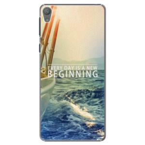 Plastové pouzdro iSaprio Beginning na mobil Sony Xperia E5