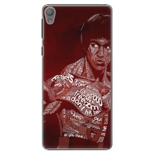 Plastové pouzdro iSaprio Bruce Lee na mobil Sony Xperia E5