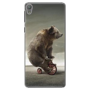 Plastové pouzdro iSaprio Bear 01 na mobil Sony Xperia E5