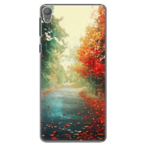 Plastové pouzdro iSaprio Autumn 03 na mobil Sony Xperia E5