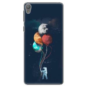 Plastové pouzdro iSaprio Balloons 02 na mobil Sony Xperia E5