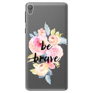 Plastové pouzdro iSaprio Be Brave na mobil Sony Xperia E5