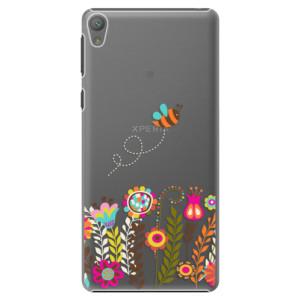Plastové pouzdro iSaprio Bee 01 na mobil Sony Xperia E5