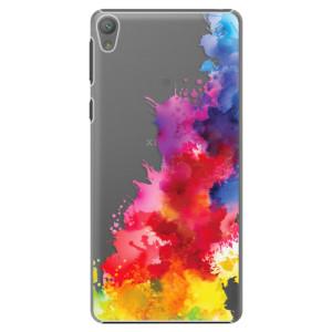 Plastové pouzdro iSaprio Color Splash 01 na mobil Sony Xperia E5