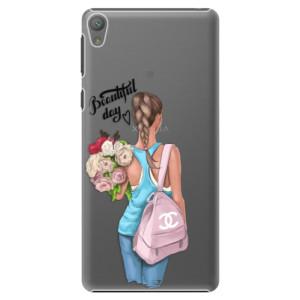 Plastové pouzdro iSaprio Beautiful Day na mobil Sony Xperia E5