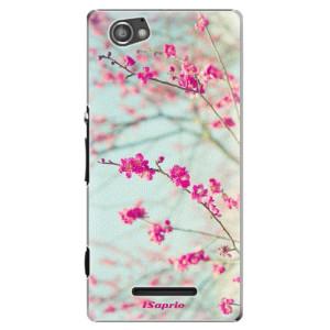 Plastové pouzdro iSaprio Blossom 01 na mobil Sony Xperia M