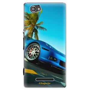 Plastové pouzdro iSaprio Car 10 na mobil Sony Xperia M