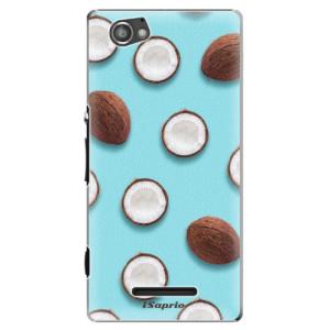 Plastové pouzdro iSaprio Coconut 01 na mobil Sony Xperia M
