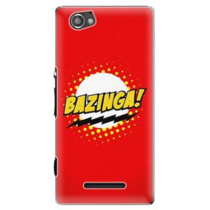 Plastové pouzdro iSaprio Bazinga 01 na mobil Sony Xperia M