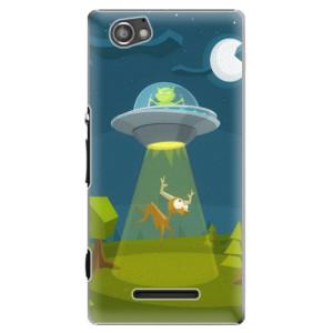 Plastové pouzdro iSaprio Alien 01 na mobil Sony Xperia M