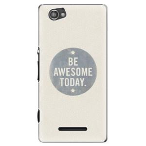 Plastové pouzdro iSaprio Awesome 02 na mobil Sony Xperia M