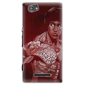 Plastové pouzdro iSaprio Bruce Lee na mobil Sony Xperia M