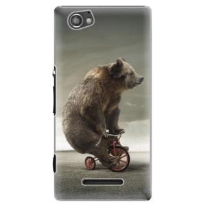 Plastové pouzdro iSaprio Bear 01 na mobil Sony Xperia M