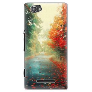 Plastové pouzdro iSaprio Autumn 03 na mobil Sony Xperia M