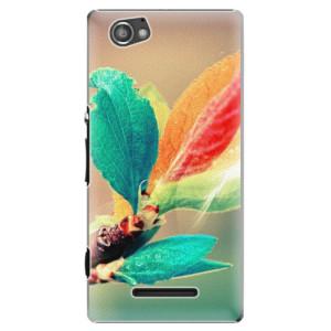 Plastové pouzdro iSaprio Autumn 02 na mobil Sony Xperia M