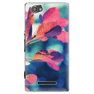 Plastové pouzdro iSaprio Autumn 01 na mobil Sony Xperia M