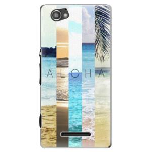 Plastové pouzdro iSaprio Aloha 02 na mobil Sony Xperia M