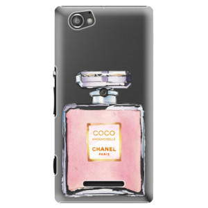 Plastové pouzdro iSaprio Chanel Rose na mobil Sony Xperia M