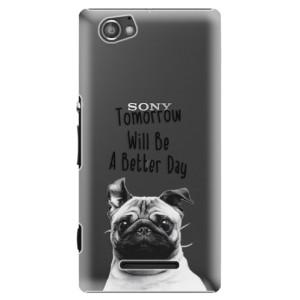 Plastové pouzdro iSaprio Better Day 01 na mobil Sony Xperia M