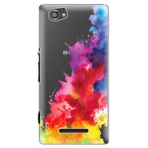 Plastové pouzdro iSaprio Color Splash 01 na mobil Sony Xperia M