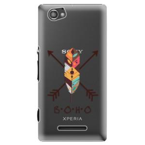 Plastové pouzdro iSaprio BOHO na mobil Sony Xperia M