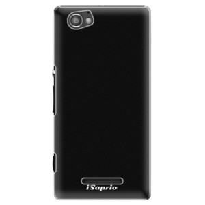 Plastové pouzdro iSaprio 4Pure černé na mobil Sony Xperia M